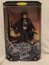 1998 Harley Davidson Barbie Doll #2 Red Hair Collector Edition NRFB