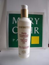 MARY COHR SWHITE HUILE DEMAQUILLANTE ECLAIRCISSANTE BRIGHTENING CLEANSING OIL