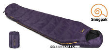 Snugpak SLEEPER LITE (BASECAMP) AMETHYST 4 Season, Mummy Sleeping Bag with Hood