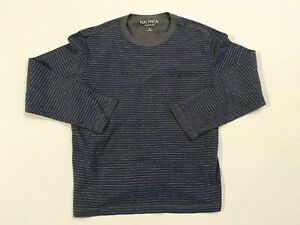 Nautica Sleepwear Long Sleeve Waffle Knit Thermal Shirt Men's Medium