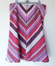 LOVELY MONSOON 100% LINEN SKIRT SZ 18 IN EXCELLENT CONDITION! SUMMER, STRIPED