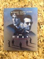 Heat Steelbook (Blu-ray, 1-Disc Set) Rare OOP Authentic US Release
