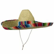 MEXICAN SOMBRERO COSTUME HAT SPANISH FIESTA CINCO DE MAYO FESTIVE SALSA CHILD