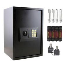 Hot Large Digital Electronic Safe Box Keypad Lock Security Home Office Black Us