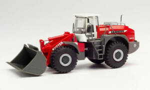 HERPA Modell 1:87/H0 Baufahrzeug, Liebherr L580 Radlader, Kutter Bayern #312776