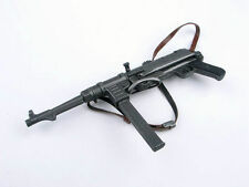 "1/6 WWII German MP40 Machine Gun Weapon Rifle Black Model for 12"" Action Figure"