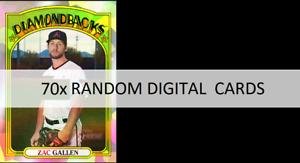 Topps Bunt RETRO Heritage 70x RANDOM SUPER RARE SERIES 2 CARDS CRAFT FOR ICONIC