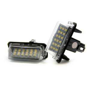 2 X LED Plaque Immatriculation D'Immatriculation Éclairage Toyota Yaris Camry