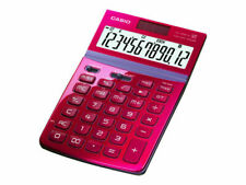 Casio Basic Calculator JW-200TV-RD(JW200TV) Red