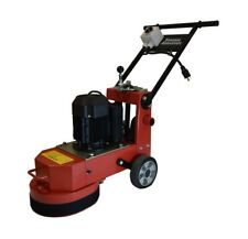 "Virginia Abrasives Electric 110 11"" Single Disc Concrete Floor Grinder - 3 Blade"