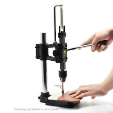 Heavy Duty Leather Puncher Embossing Machine for Diy Leather Craft Punching Hole