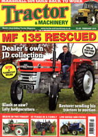 Tractor & Machinery Magazine. February 2014 - MF 135 RESCUED