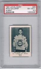 1952 Laval Dairy Subset Hockey Card Chicoutimi #26 Pete Taillefer Graded PSA 6.5