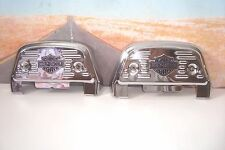 COVERS Chrome Floorboard Footboard Bar & Shield Pass For HARLEY Tour Softail  R3