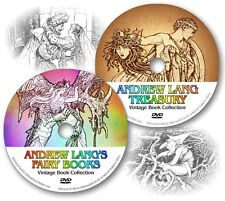 ANDREW LANG COLLECTION * 730 Stories * Over 1600 Illustrations on 2 DVDs!