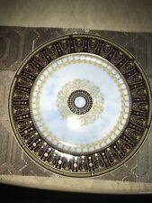 ***BERNARDAUD GRAND VERSAILLES SERVICE PLATE ***LIMOGES FRANCE #10 (small chip)