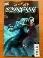 WAR OF REALMS NEW AGENTS OF ATLAS #3 Hyung, Jee 2nd print Variant Marvel 2019 NM