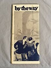 """1927 Vtg """"By the Way - By the Way"""" SANTA FE Travel Cities Info Guide Brochure"""