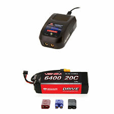 Venom 20C 3S 6400mAh 11.1V LiPo Battery and Sport Charger Combo