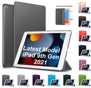 """For New Apple iPad 9th Generation 10.2"""" 2021 Smart Magnet Case Protective Cover"""