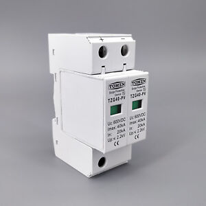 SPD DC 600V 20KA~40KA House Surge  Protective Low-voltage Arrester Device