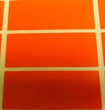 Large Orange - 30 x 78mm Colour Code Rectangles / Folder Stickers Sticky Labels
