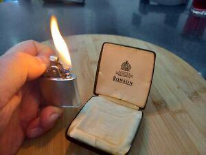 Vintage Ronson Standard lighter in original box - circa 1930's to 1950's