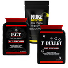 TESTOSTERONE BOOSTER ANABOLIC STACK TEST T BULLETS EXTREME PCT MILK THISTLE