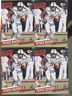 PATRICK MAHOMES 2017 PANINI PRESTIGE 2 COUNT LOT ROOKIE CARDS  NUMBER 274 2 card