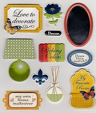 *HOME DECOR* K & Company Life's Little Occasions Stickers - Scrapbooking/Cards