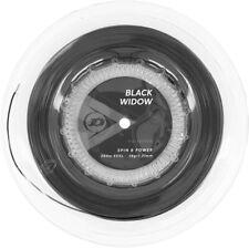 Dunlop Black Widow 16 Gauge 1.31 660' 200m Tennis String Reel Black