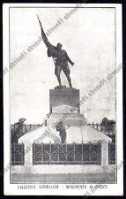 VERCELLI PALAZZOLO VERCELLESE 04 MONUMENTO ai CADUTI Cartolina