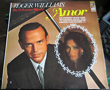 "Roger Williams, In A Latin Mood ""Amor"" NM"