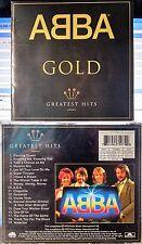 ABBA - Gold Greatest Hits (CD, 1992, Polydor Ltd., UK)