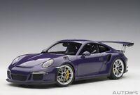 Autoart 78169 - 1/18 Porsche 911 (991) Gt3 Rs (2016) - Ultraviolet - Neu