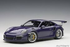 Autoart 78169 - 1/18 PORSCHE 911 (991) gt3 RS (2016) - Ultraviolet-NUOVO