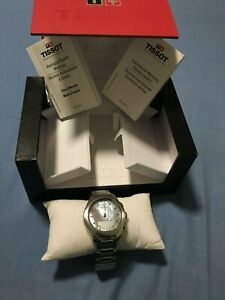 TISSOT T-Touch Solar Lady Mother of Pearl Dial Ladies Watch T0752201110100