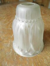 TULIPE DE LUSTRE APPLIQUE OU LAMPE ART DÉCO DEGUÉ MULLER NOVERDY SCHNEIDER (368)