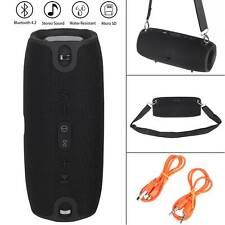 40W Tragbarer Bluetooth Lautsprecher Musik Box Stereo Wireless Subwoofer SD DHL