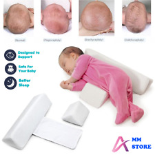 Baby Plattkopf Kopfkissen gegen Verformung Schwamm Schlafen Positioner Dreieckig