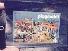 Rare Catalogue Numero 4 Playmobil 1981