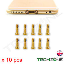 10 x Bottom Screws Pentalobe Gold Screw set for Apple iPhone 6 & iPhone 6 Plus