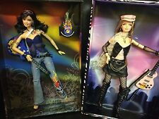 Edición Limitada, 2 Muñecas Barbie De Hard Rock Cafe 2004 y 2005