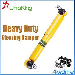 Fits Nissan Patrol GU Y61 4WD Heavy Duty Steering Damper Stabiliser 4/2000-2015
