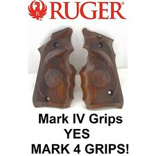 Factory RUGER Mark 4 Finger Groove Cocobolo Wood Grips Hunter MK4 MK IV MKIV