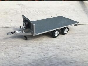 1/32 Ifor Williams Flat Trailer Conversion With Scratch Built Headboard + Floor