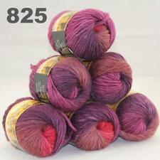6Balls x 50g Chunky DIY Needle crafts Hand-Woven Knitting Scores Wool Yarn 25