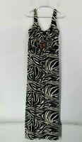 En Focus Studio Women's Size 16 Sleeveless Dress w/ Beaded Brooch