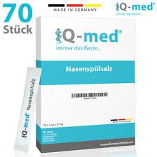 Nasenspülsalz von iQ-med® | 70 Stück | Nasendusche, Nasenspülung, Nasensalz