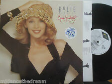 KYLIE MINOGUE ~ Enjoy Yourself ~ VINYL LP + FOLD OUT POSTER